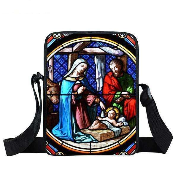 Christian Theme Compact Messenger Bags, Messenger Bags,In God's Service Store