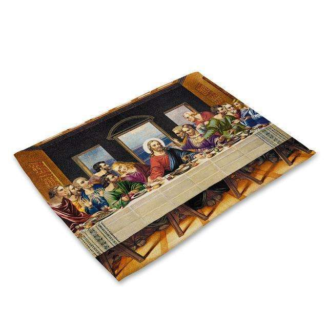 Inspirational Christian Place Mats, Placemats,In God's Service Store