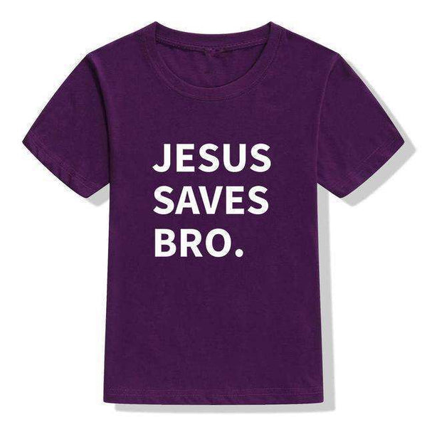 Jesus Saves Bro Baby and Toddler T-shirts, Baby and Toddler T-shirts,In God's Service Store