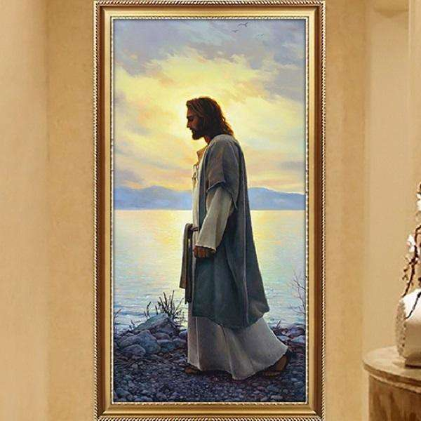 Jesus Christ our Savior Canvas Oil Paintings, Canvas Oil Paintings, Pictures and Prints,In God's Service Store