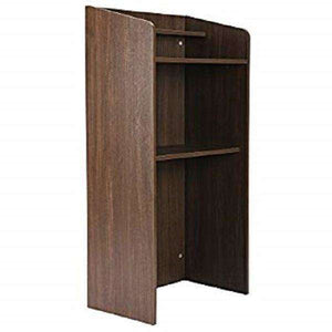 Multi-Purpose Floor Lectern with Shelf, Multi-Purpose Floor Lectern with Shelf,In God's Service Store