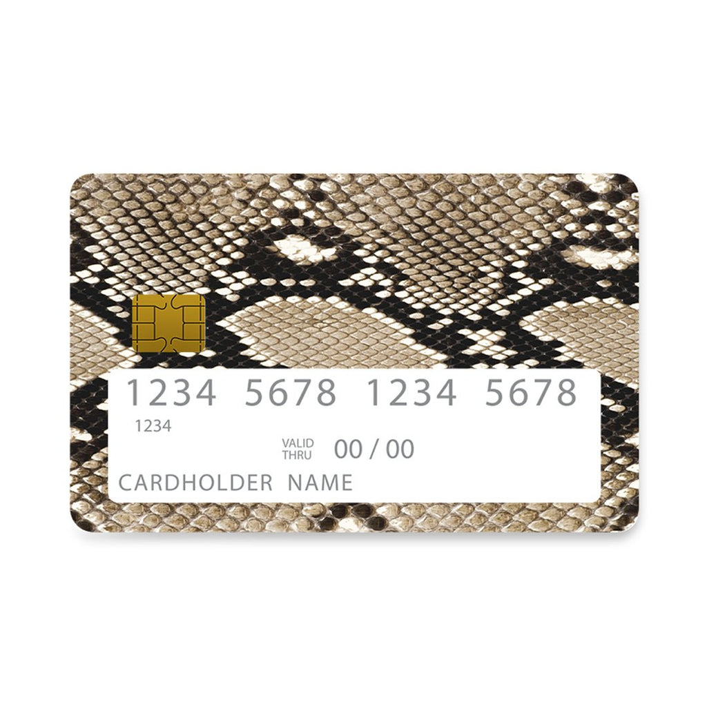 23 - Bank Card  Fashion Snake Animal case, cover, bumper