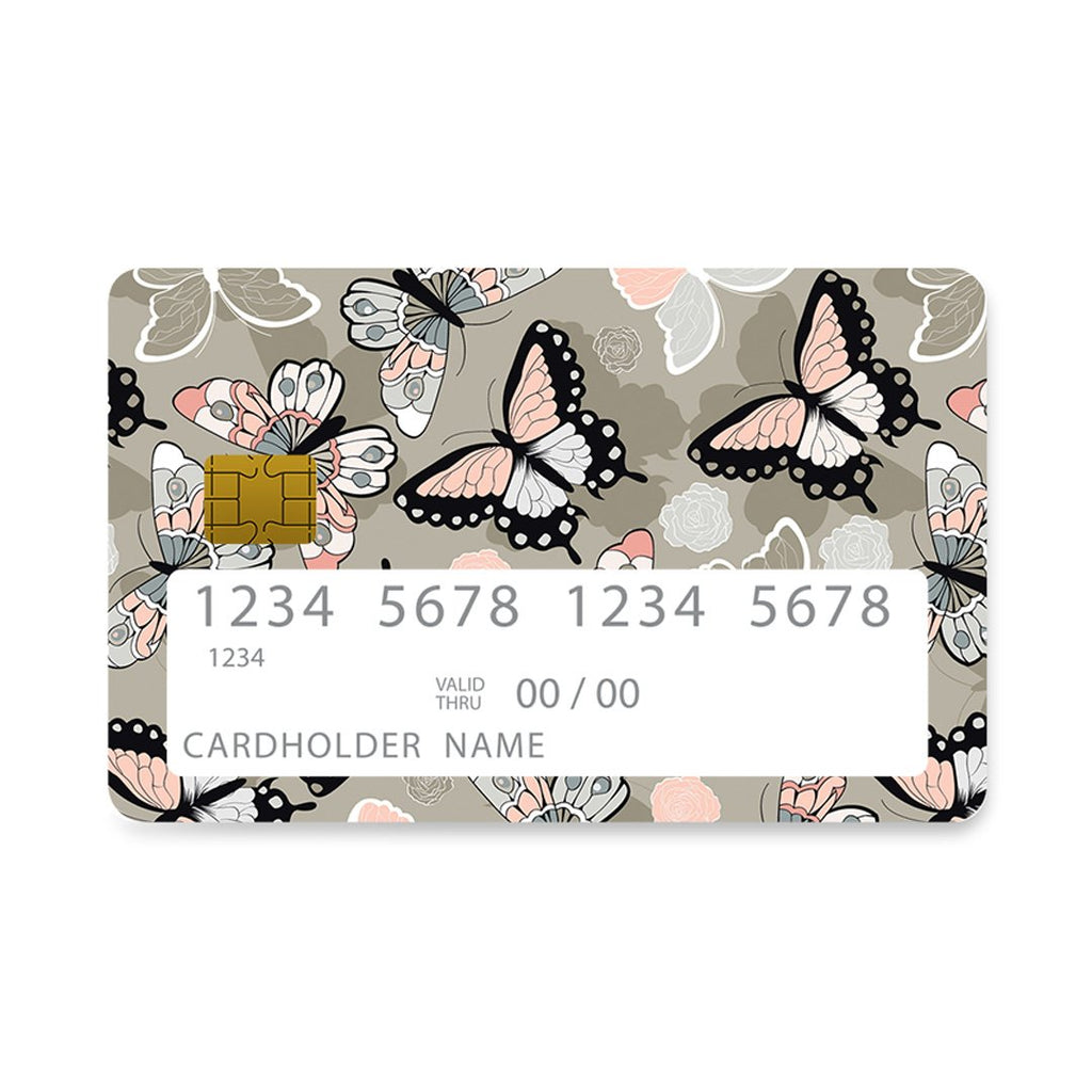 135 - Bank Card  Butterflies Boho case, cover, bumper