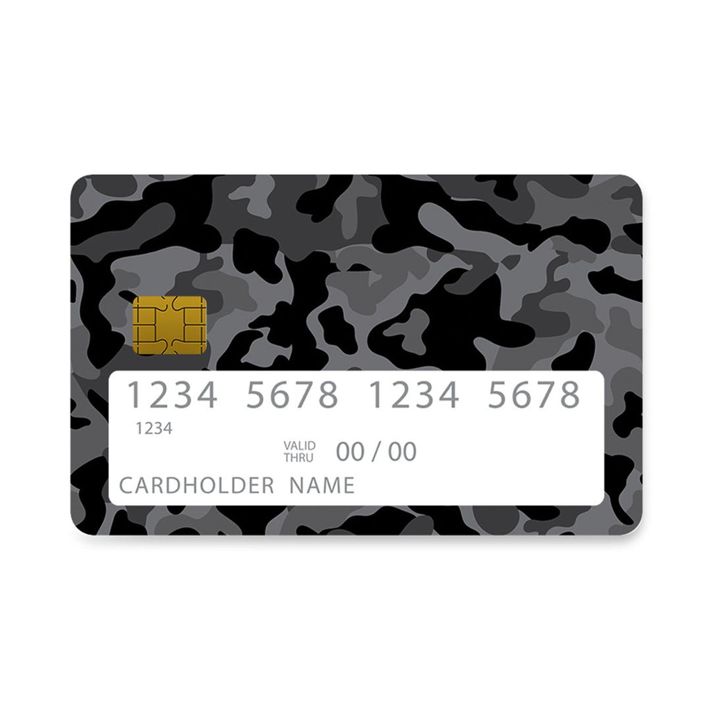 99 - Bank Card  Camo Black case, cover, bumper