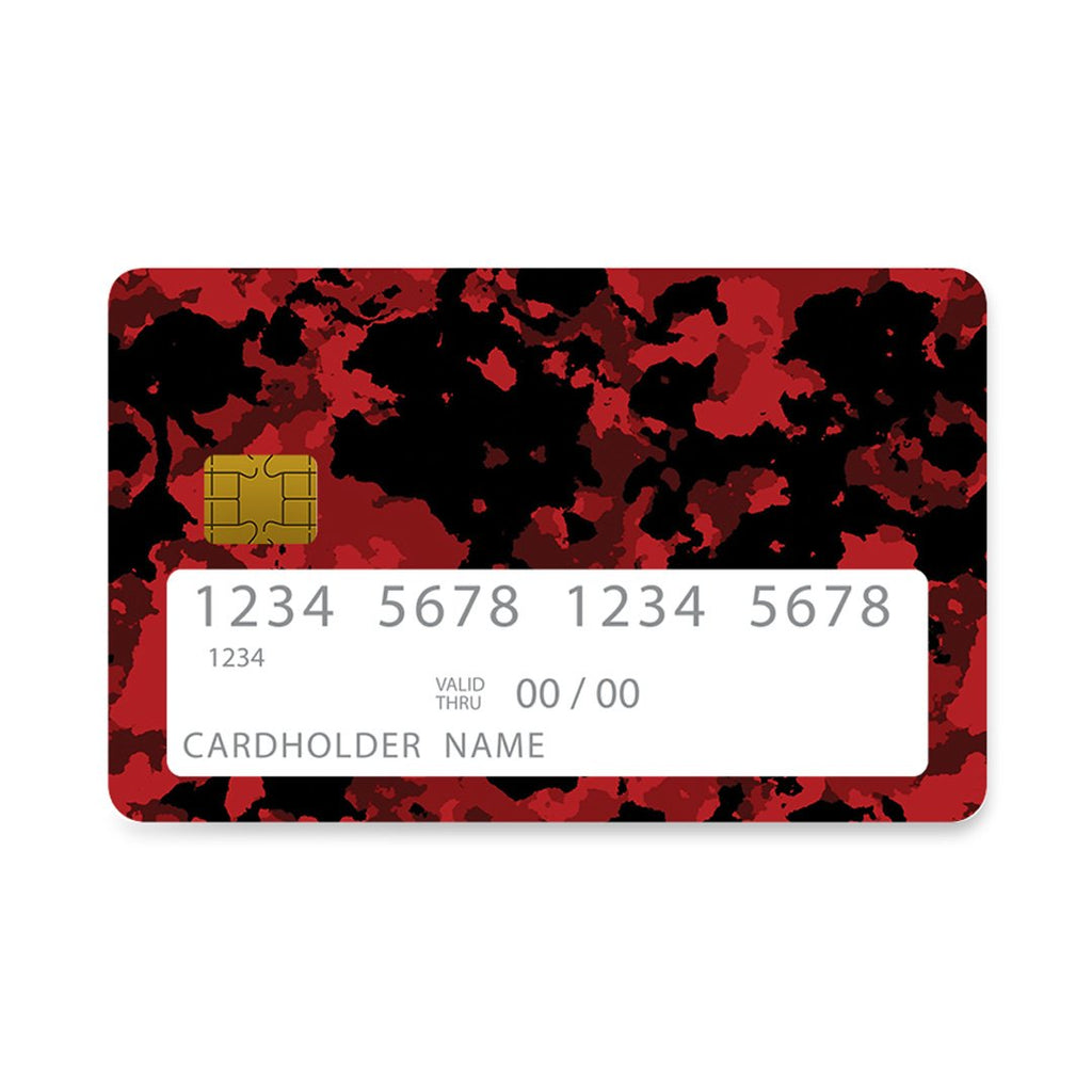 27 - Bank Card  Bloodshot Camo case, cover, bumper