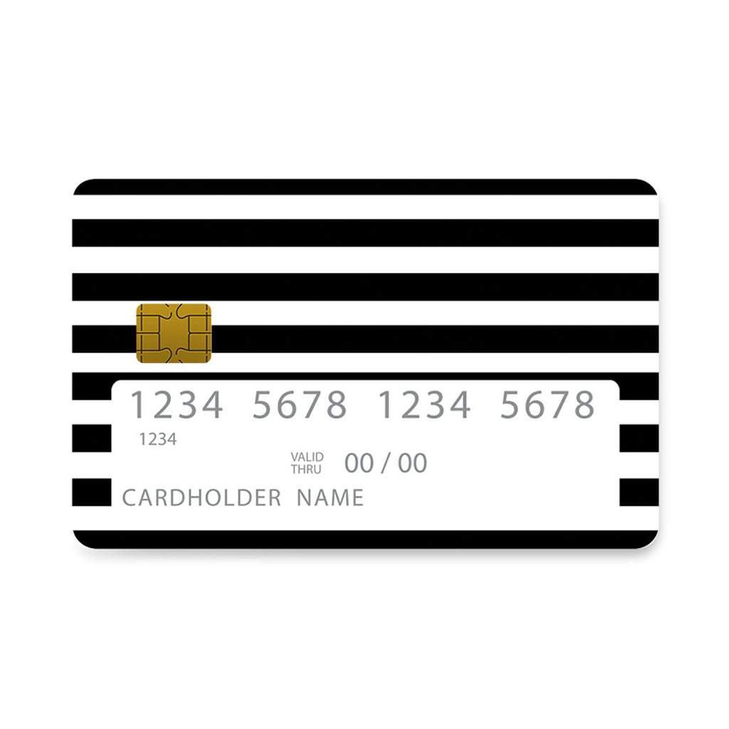 47 - Bank Card  Black Stripes Checked case, cover, bumper