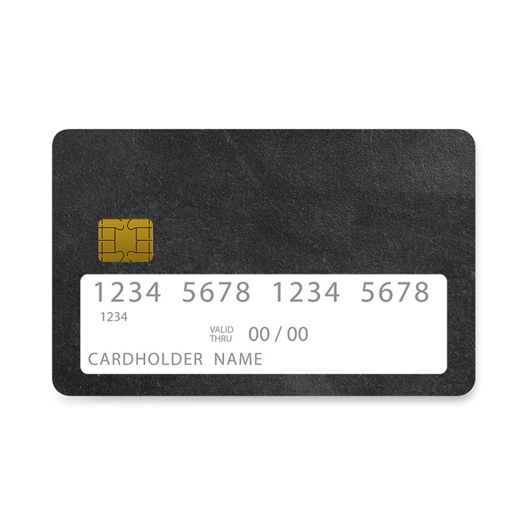 87 - Bank Card  Black Slate Color case, cover, bumper