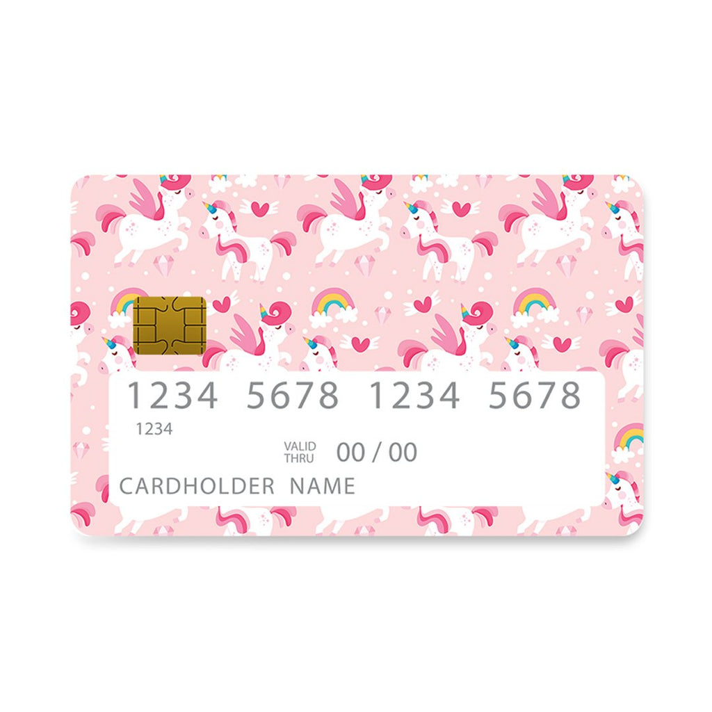 4 - Bank Card Hearted Unicorns Cute case, cover, bumper