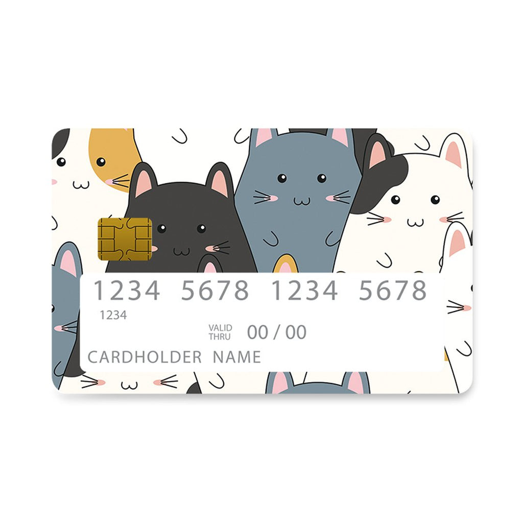 4 - Bank Card Kitten Cute case, cover, bumper