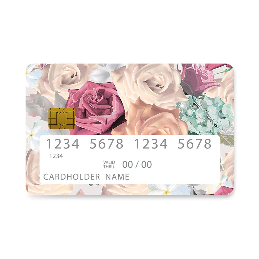 99 - Bank Card  Bouquet Floral case, cover, bumper