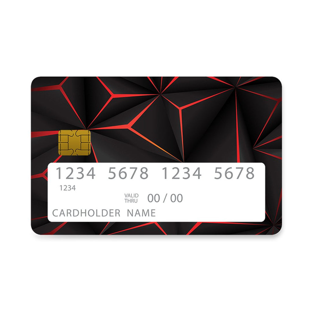 37 - Bank Card  Black Future Geometric case, cover, bumper