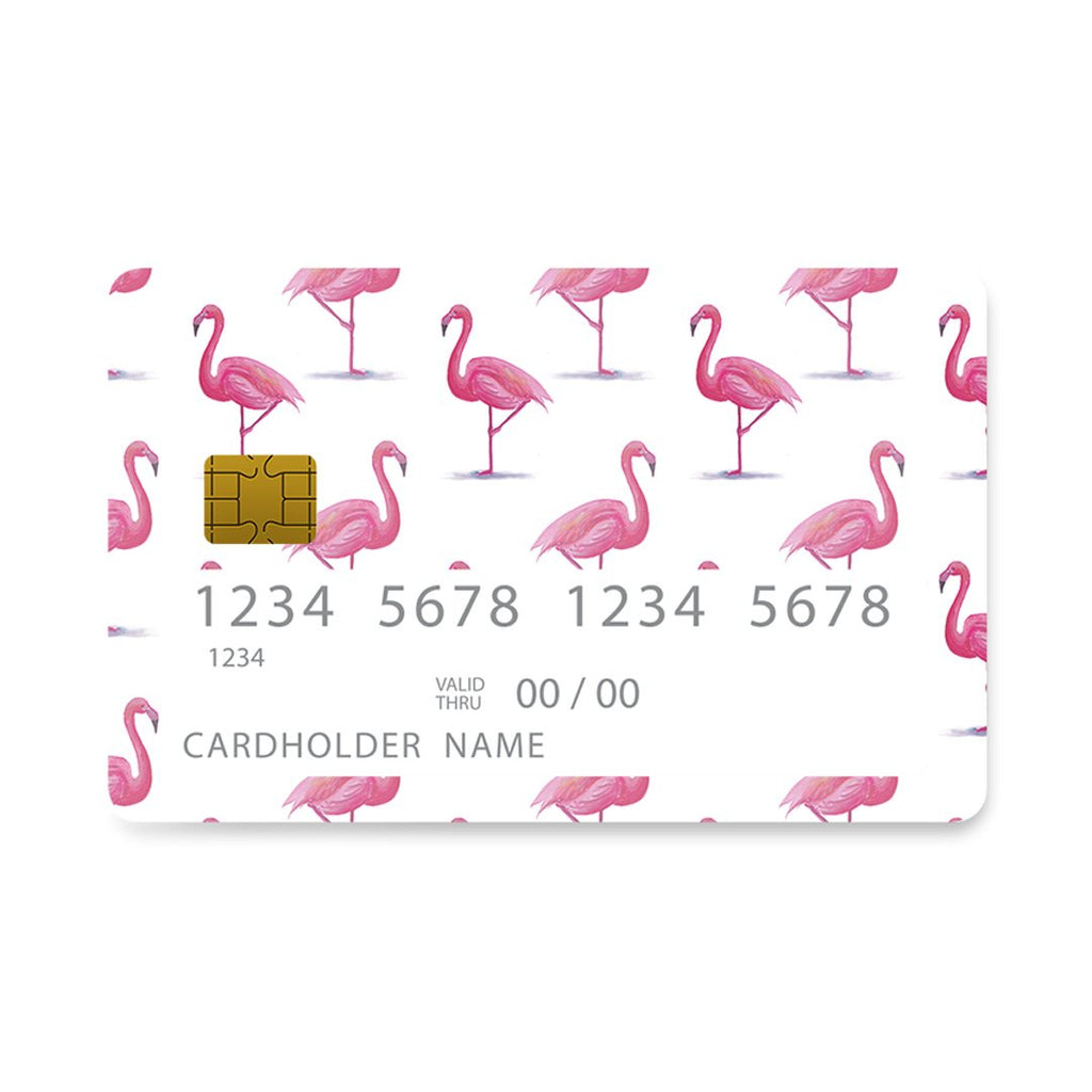128 - Bank Card  Flamingo Tropic case, cover, bumper
