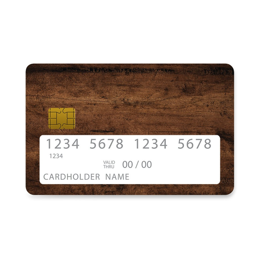 84 - Bank Card  Dark Wood case, cover, bumper