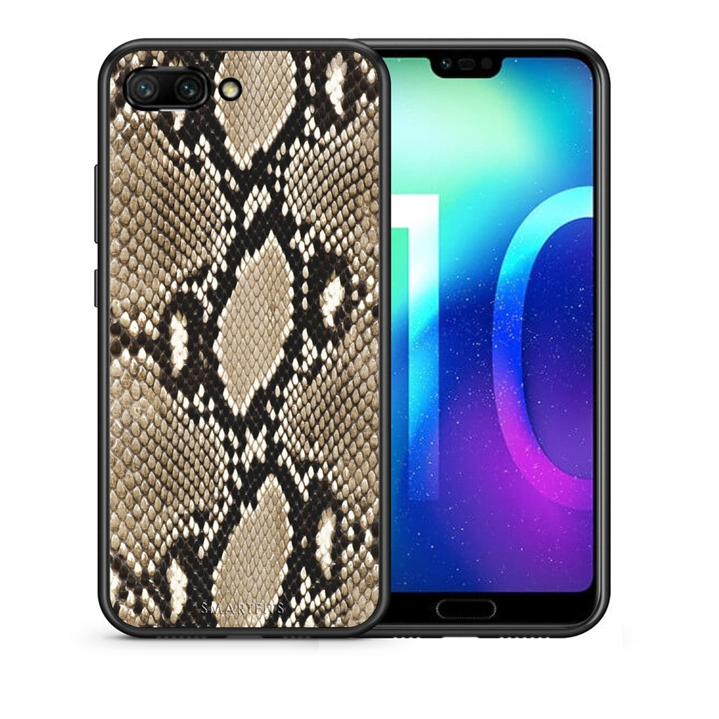 23 - Huawei Honor 10 Fashion Snake Animal case, cover, bumper