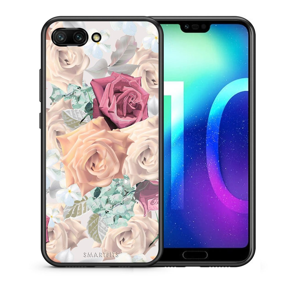 99 - Huawei Honor 10 Bouquet Floral case, cover, bumper