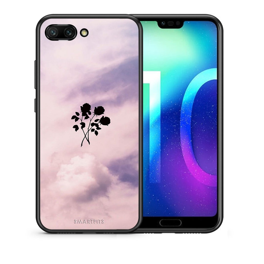 4 - Huawei Honor 10 Sky Flower case, cover, bumper