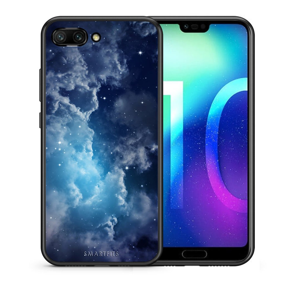 104 - Huawei Honor 10 Blue Sky Galaxy case, cover, bumper