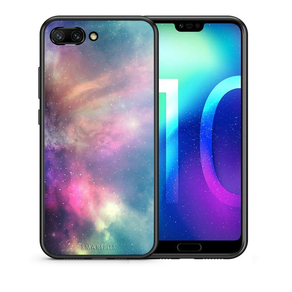 105 - Huawei Honor 10 Rainbow Galaxy case, cover, bumper