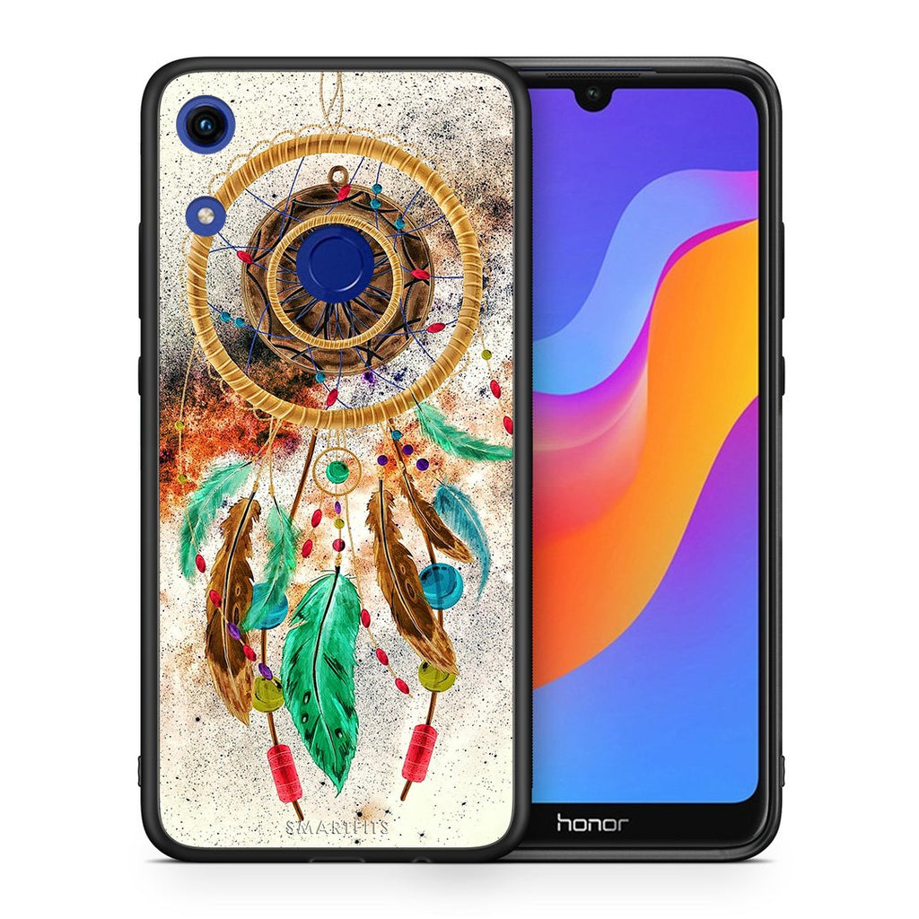 4 - Huawei Honor 8A DreamCatcher Boho case, cover, bumper