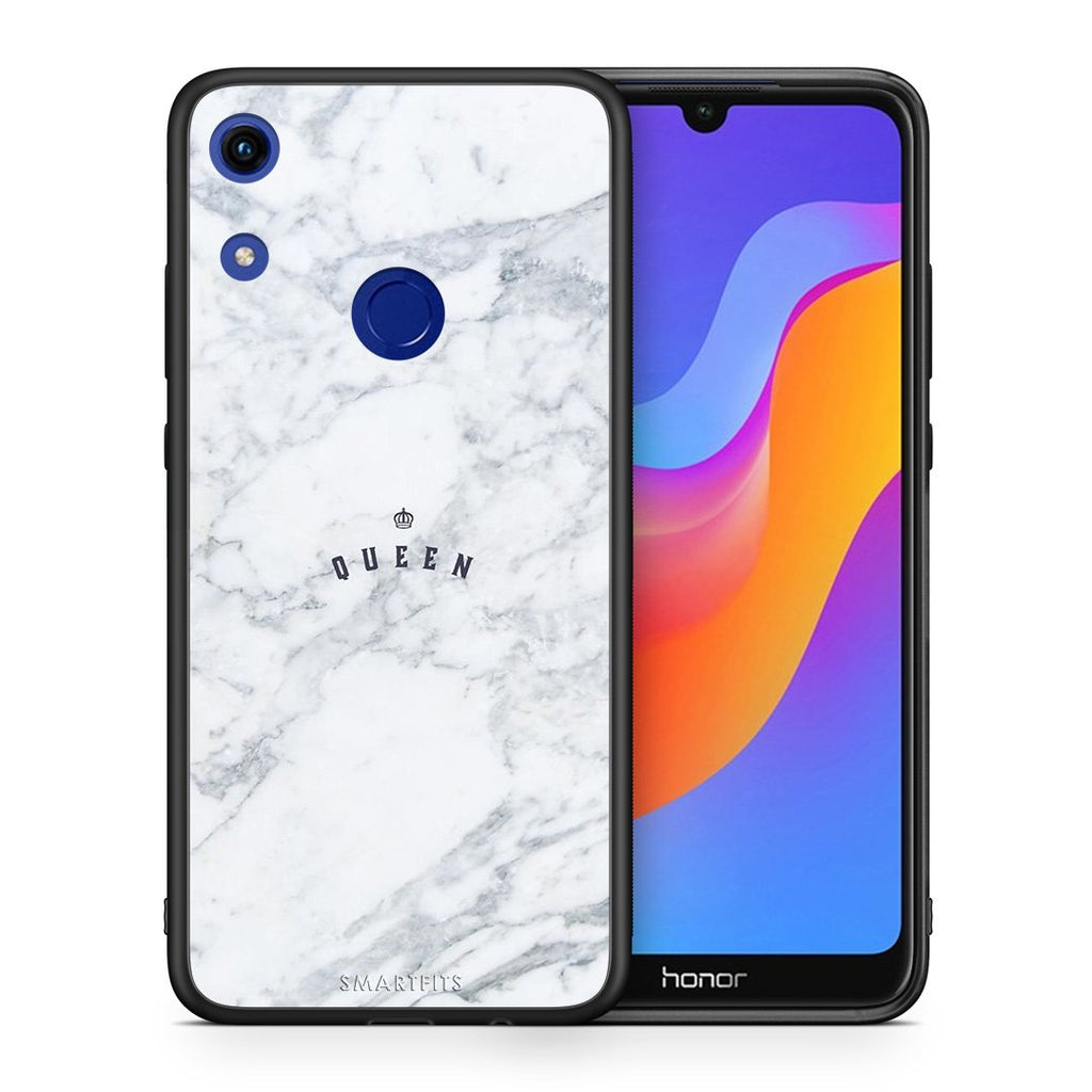 4 - Huawei Honor 8A Queen Marble case, cover, bumper