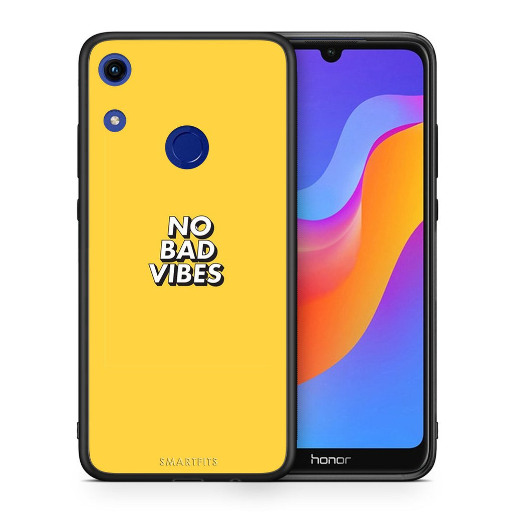4 - Huawei Honor 8A Vibes Text case, cover, bumper