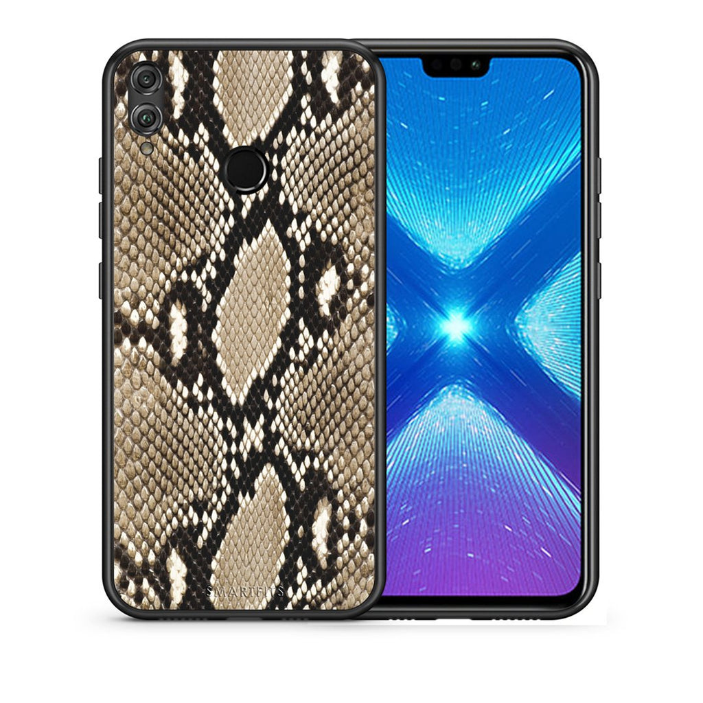 23 - Huawei Honor 8X Fashion Snake Animal case, cover, bumper