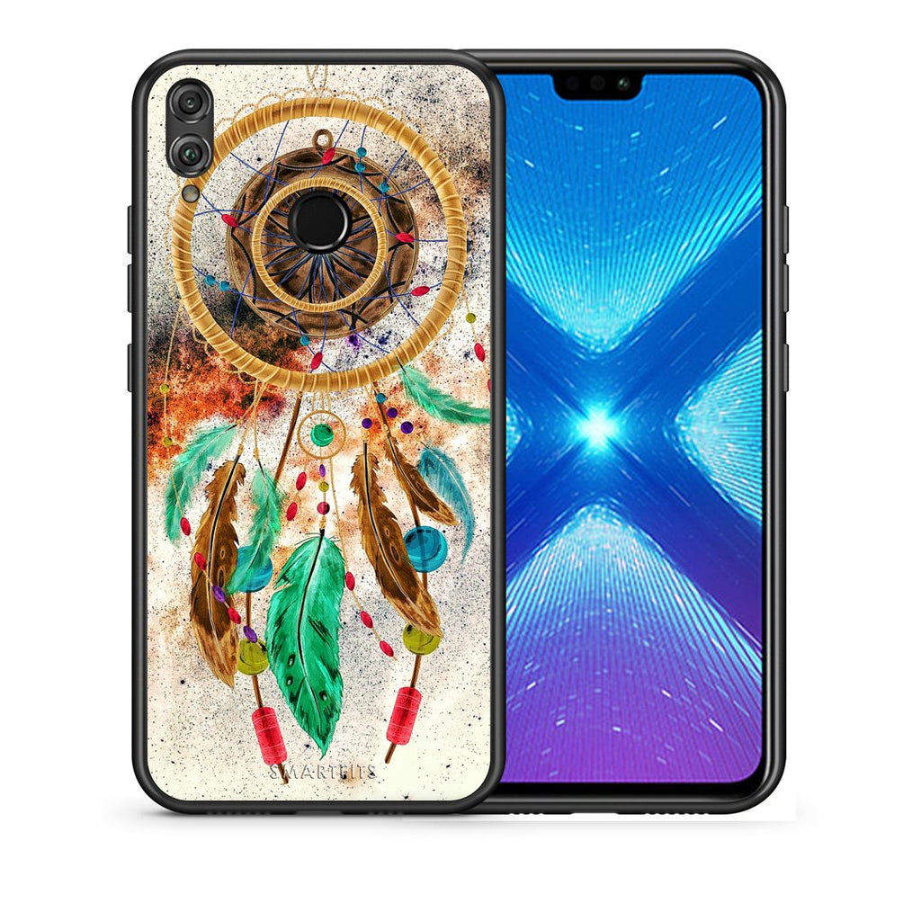 4 - Huawei Honor 8X DreamCatcher Boho case, cover, bumper