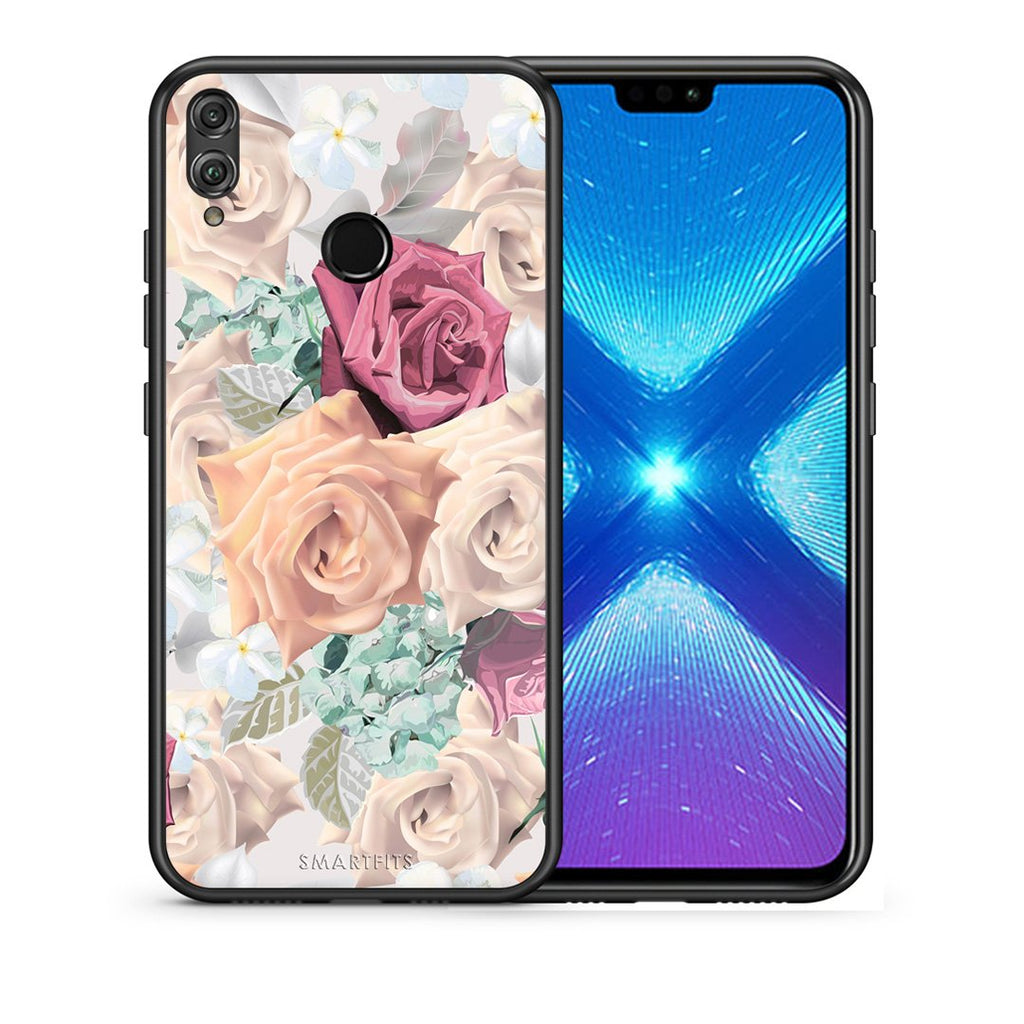 99 - Huawei Honor 8X Bouquet Floral case, cover, bumper