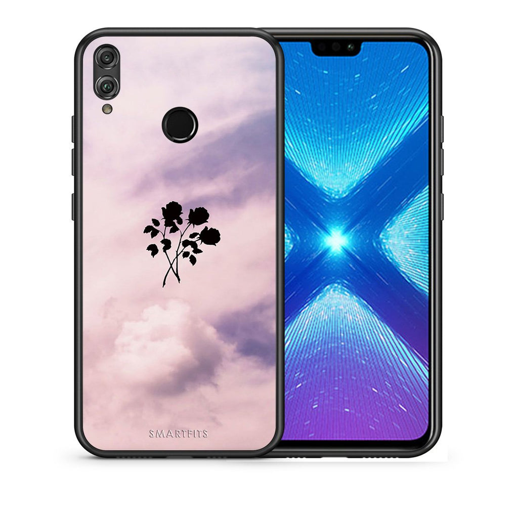 4 - Huawei Honor 8X Sky Flower case, cover, bumper
