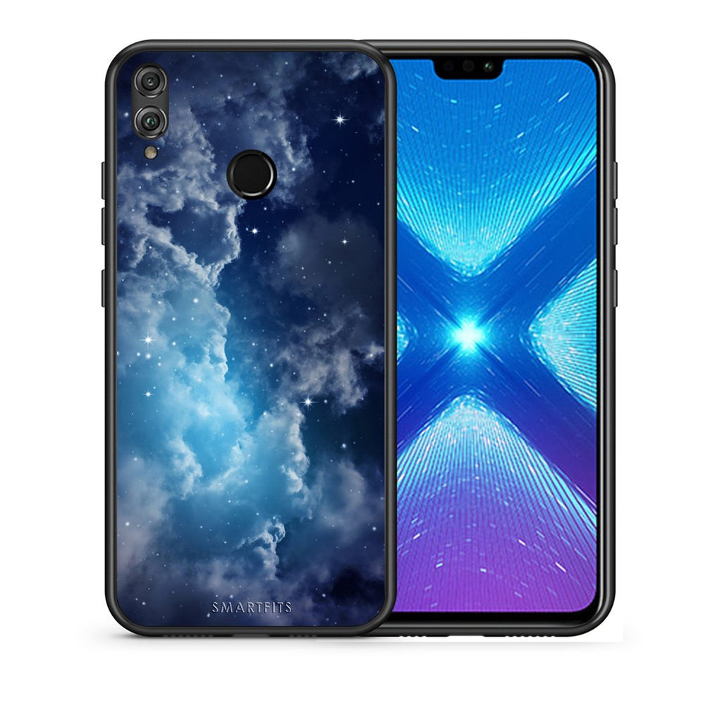 104 - Huawei Honor 8X Blue Sky Galaxy case, cover, bumper