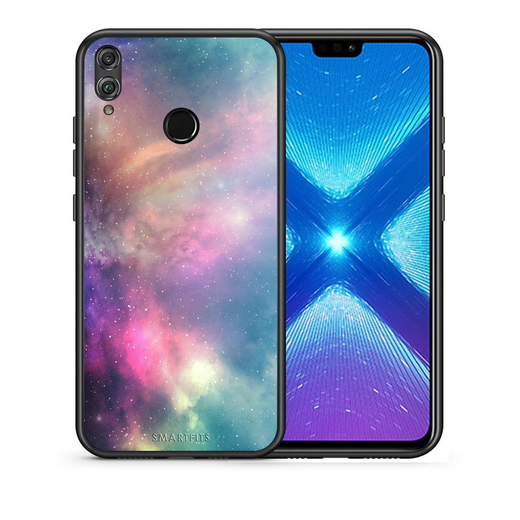 105 - Huawei Honor 8X Rainbow Galaxy case, cover, bumper