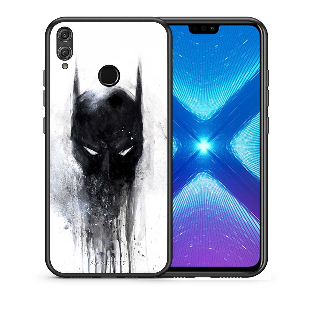 4 - Huawei Honor 8X Paint Bat Hero case, cover, bumper