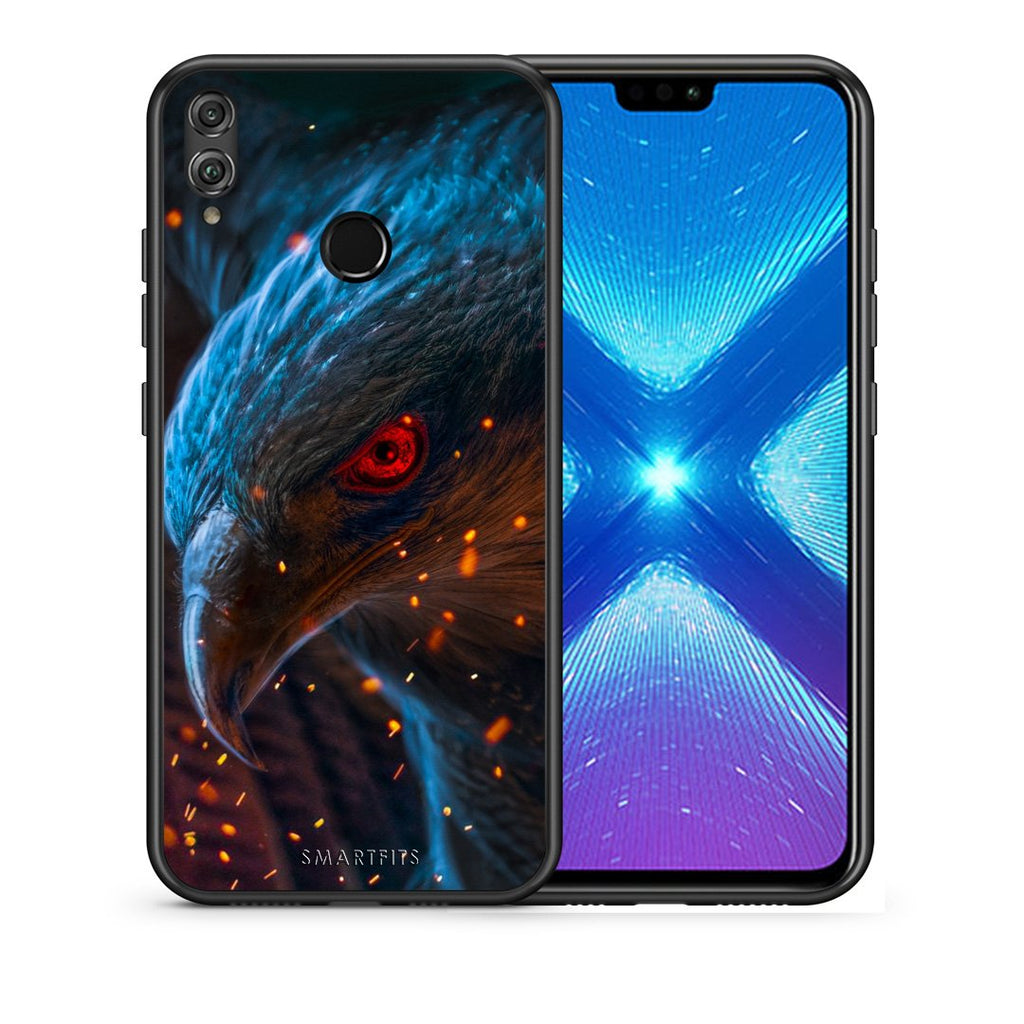 4 - Huawei Honor 8X Eagle PopArt case, cover, bumper