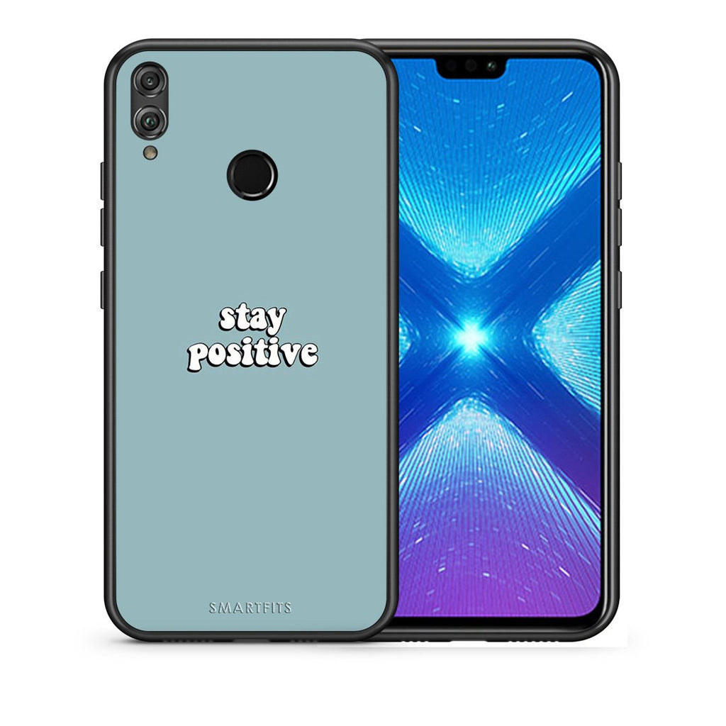 4 - Huawei Honor 8X Positive Text case, cover, bumper