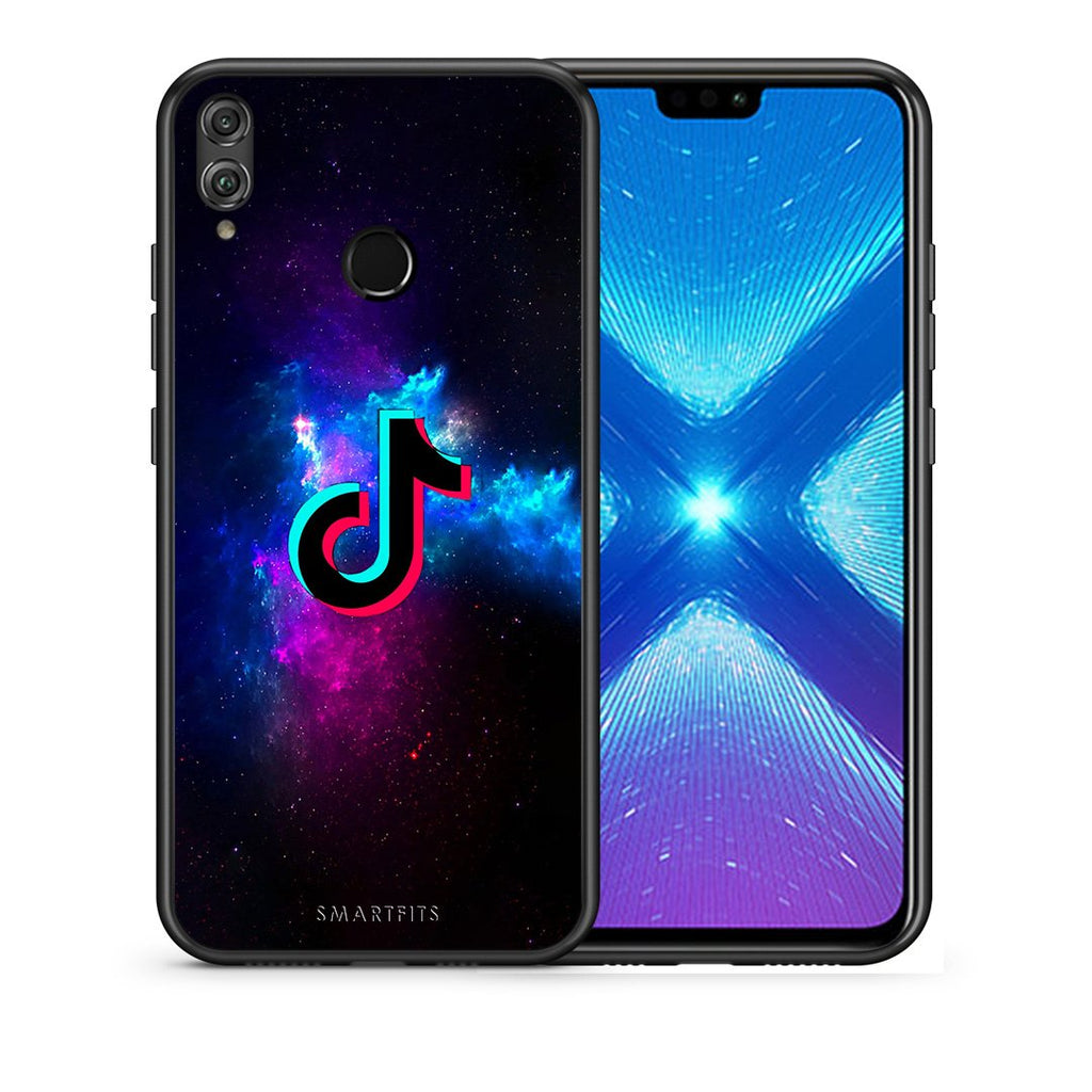 4 - Huawei Honor 8X TikTok Text case, cover, bumper
