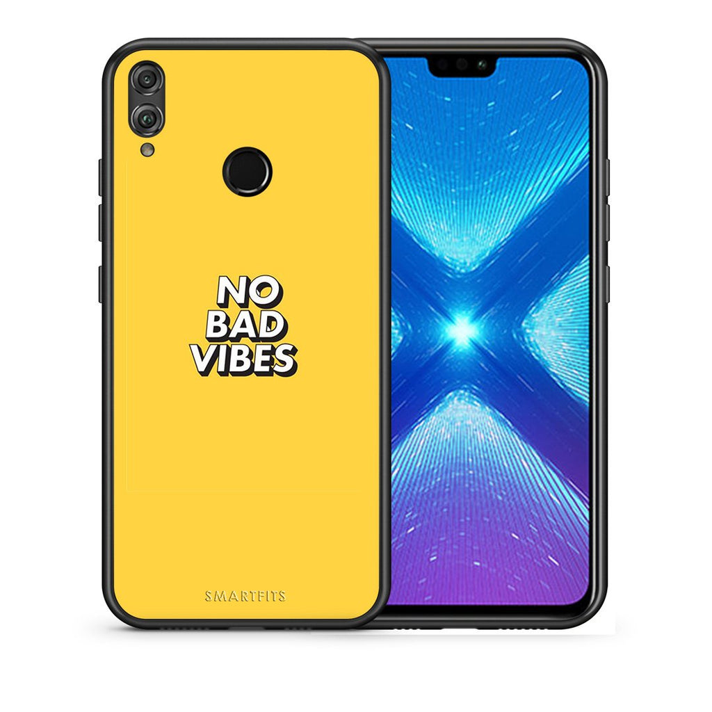 4 - Huawei Honor 8X Vibes Text case, cover, bumper