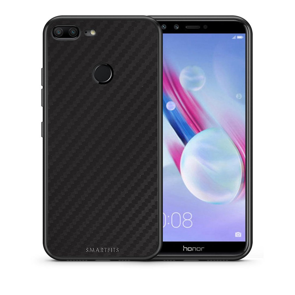 0 - Huawei Honor 9 Lite Black Carbon case, cover, bumper