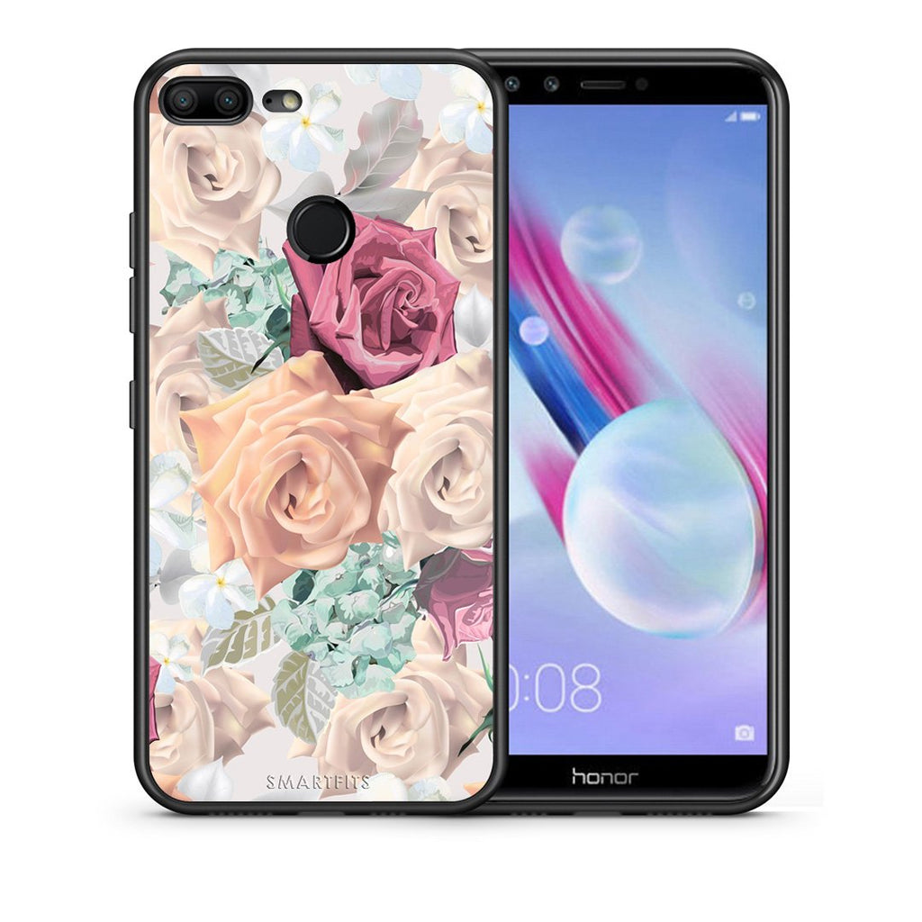 99 - Huawei Honor 9 Lite Bouquet Floral case, cover, bumper