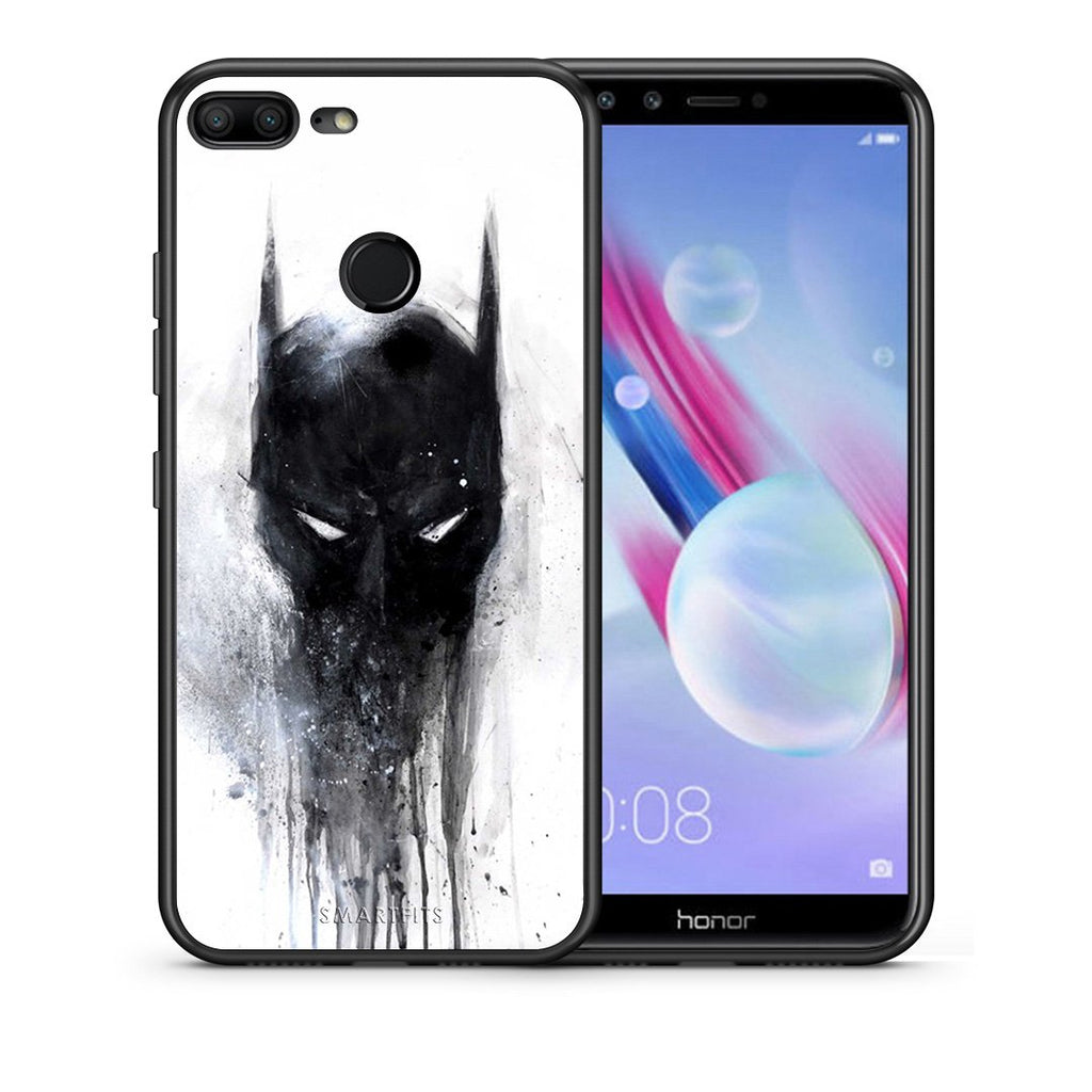 4 - Huawei Honor 9 Lite Paint Bat Hero case, cover, bumper