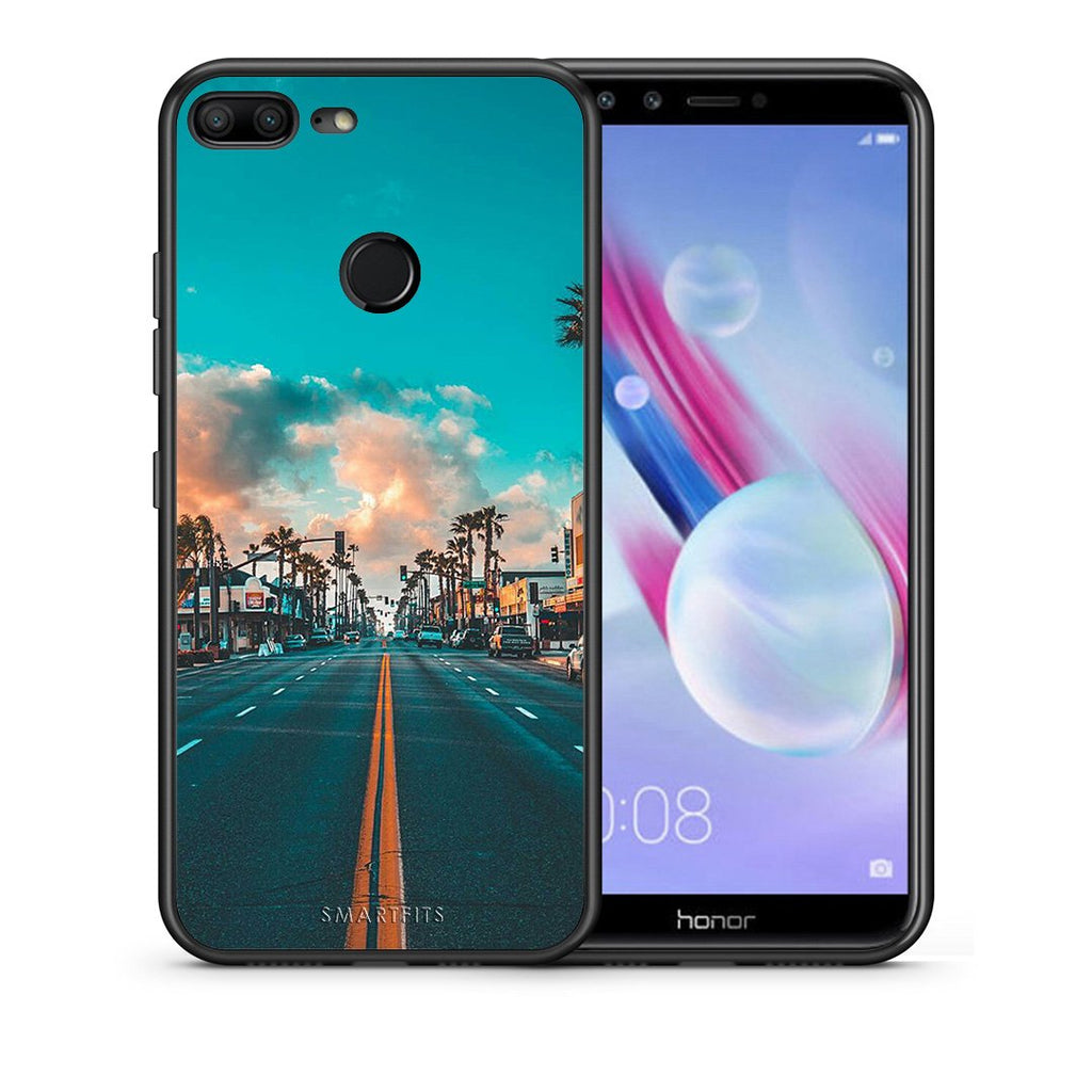 4 - Huawei Honor 9 Lite City Landscape case, cover, bumper