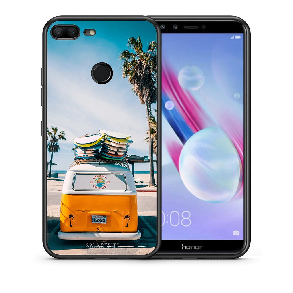4 - Huawei Honor 9 Lite Travel Summer case, cover, bumper