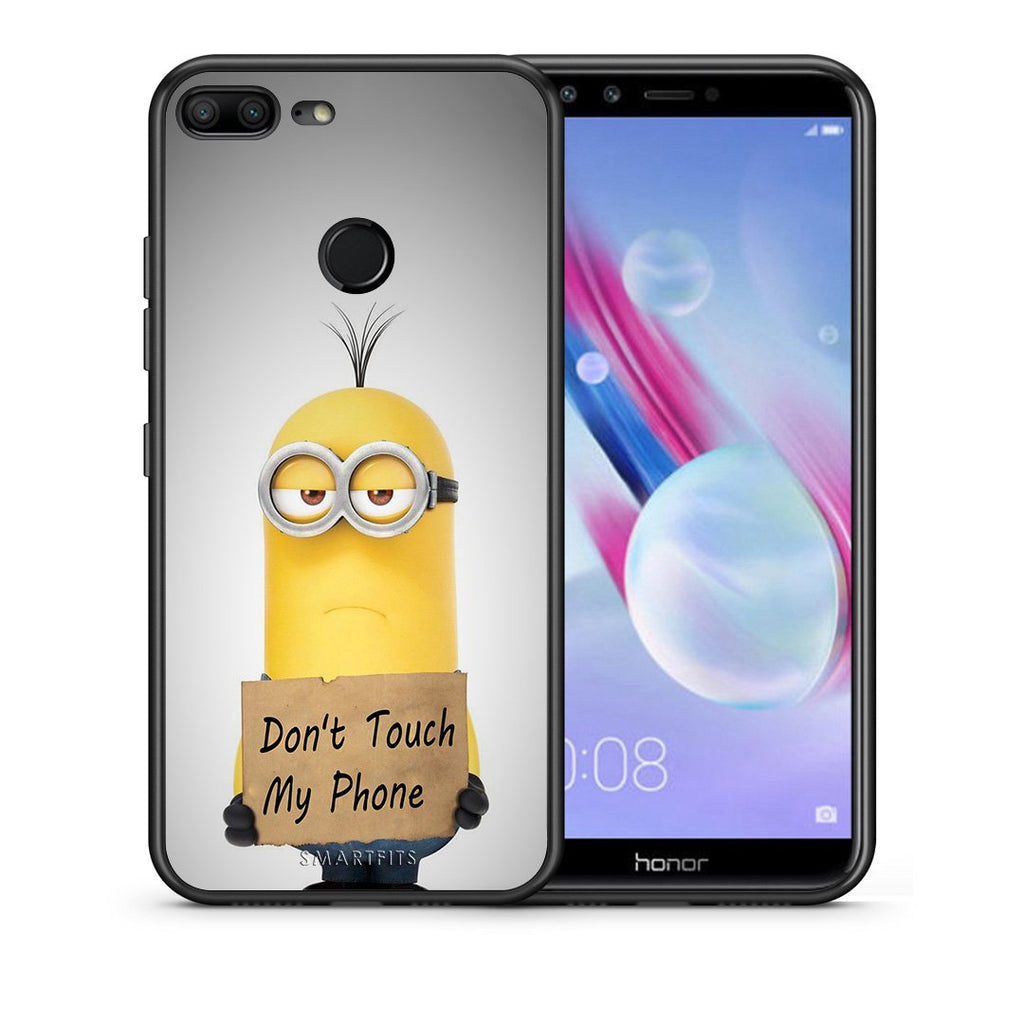 4 - Huawei Honor 9 Lite Minion Text case, cover, bumper