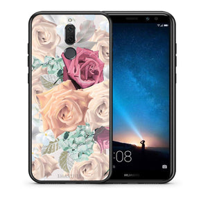 Θήκη Huawei Mate 10 Lite Bouquet Floral από τη Smartfits με σχέδιο στο πίσω μέρος και μαύρο περίβλημα | Huawei Mate 10 Lite Bouquet Floral case with colorful back and black bezels
