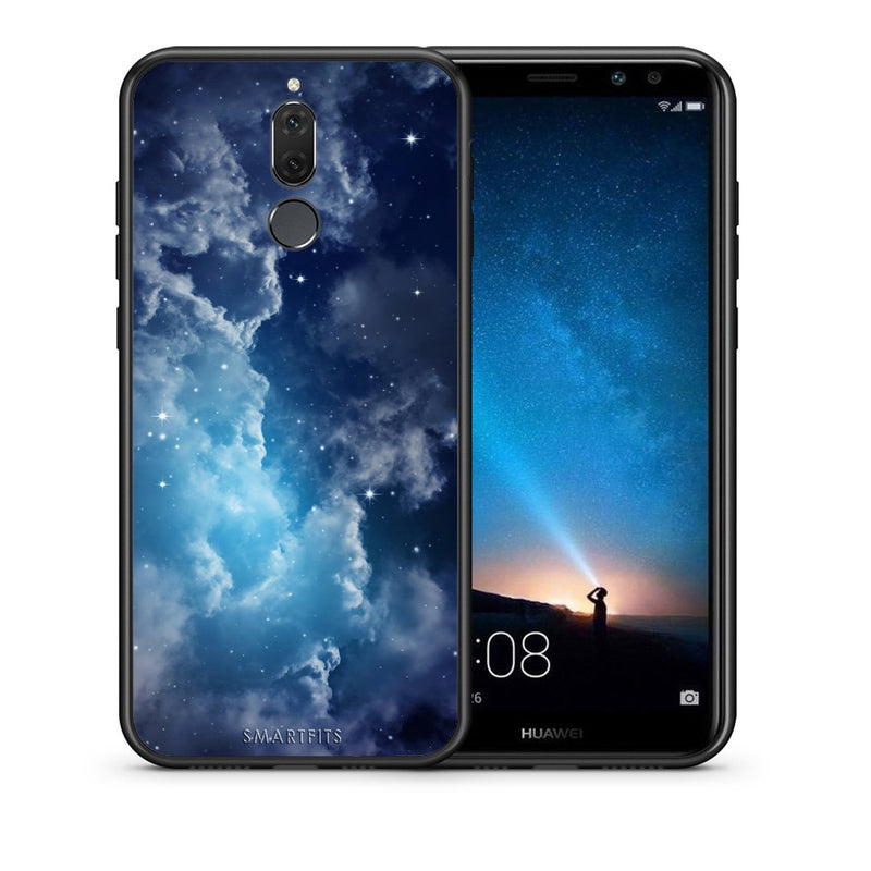 104 - huawei mate 10 lite Blue Sky Galaxy case, cover, bumper