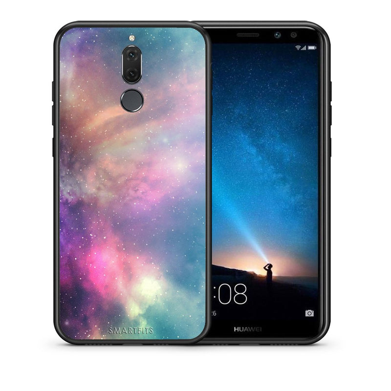 105 - huawei mate 10 lite Rainbow Galaxy case, cover, bumper