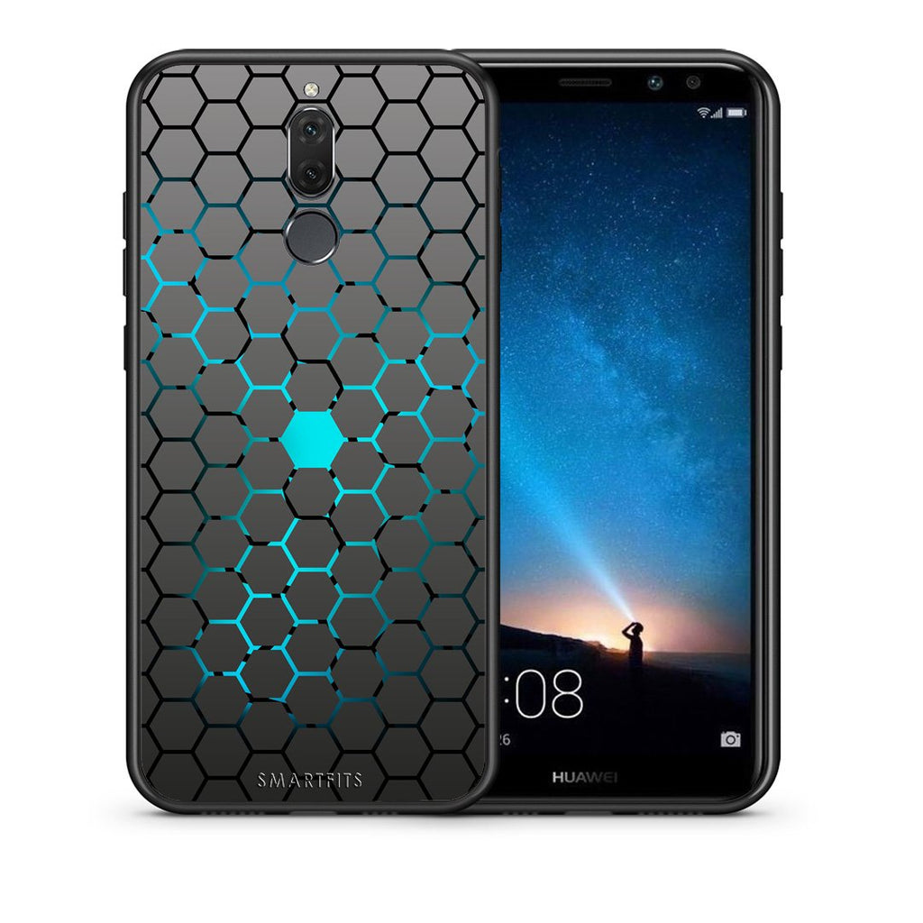 40 - huawei mate 10 lite Hexagonal Geometric case, cover, bumper