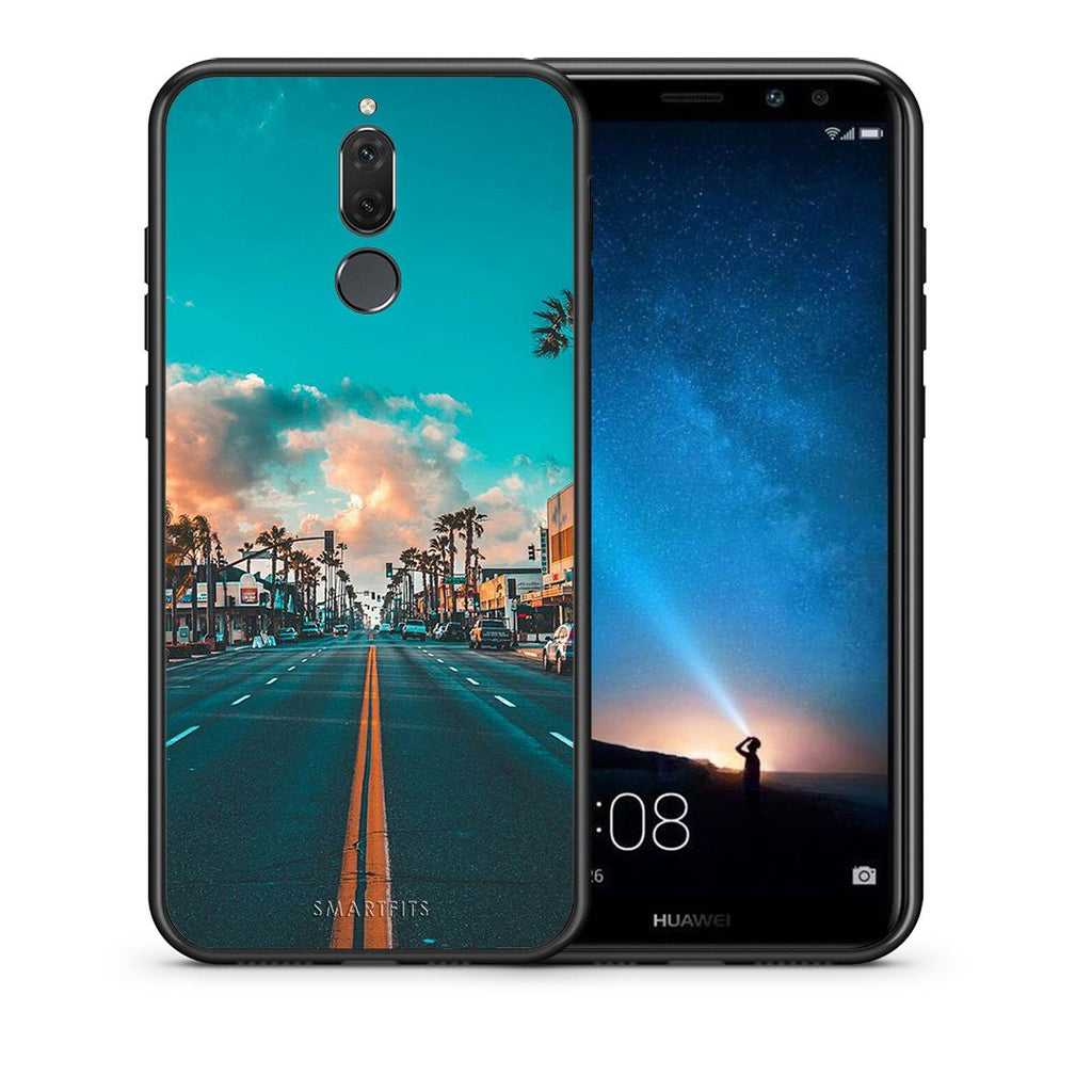 4 - huawei mate 10 lite City Landscape case, cover, bumper