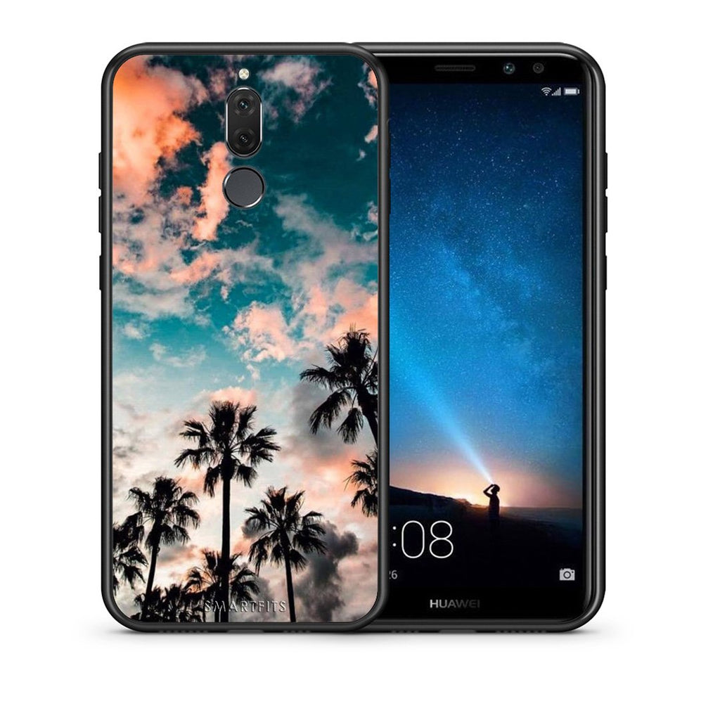 99 - huawei mate 10 lite Summer Sky case, cover, bumper