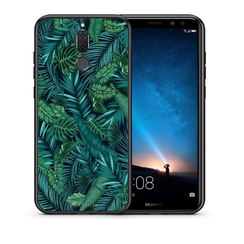 99 - huawei mate 10 lite Tropic Leaves case, cover, bumper