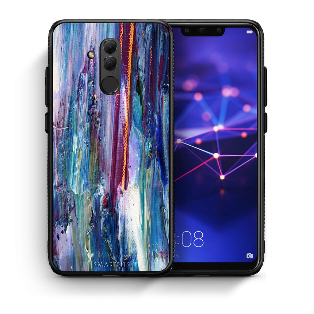 99 - Huawei Mate 20 Lite  Paint Winter case, cover, bumper